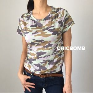 RAD camo T-shirt top